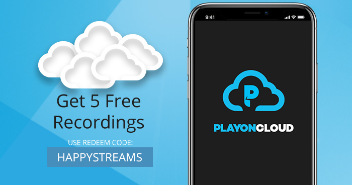 Save your bandwidth. Get 5 free PlayOn Cloud recordings.