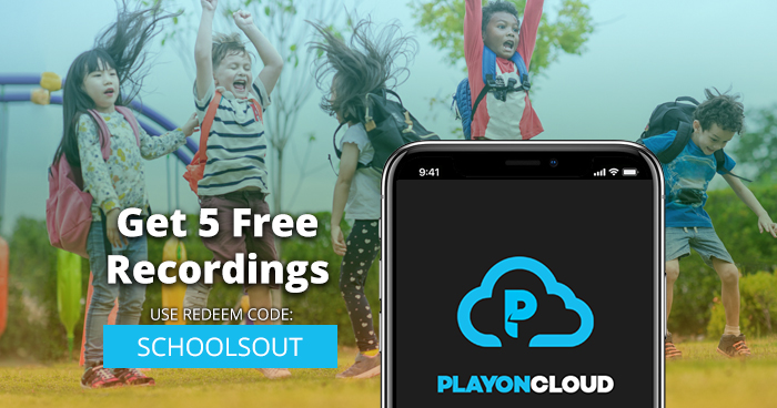 5 free PlayOn Cloud recordings