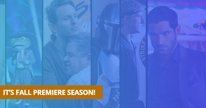 Watch Fall TV Premieres on PlayOn Cloud