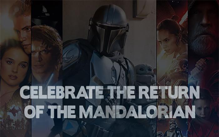 Celebrate the Return of The Mandalorian