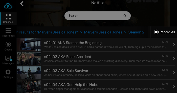 Record every episode of your favorite show with one click!