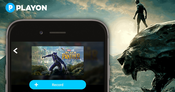 Record and Download Marvel's blockbuster Black Panther
