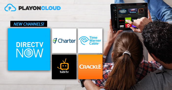 DIRECTV NOW in PlayOn Cloud | www playon tv