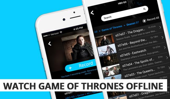 Watch Game of Thrones Offline | Episodes List & Runtime
