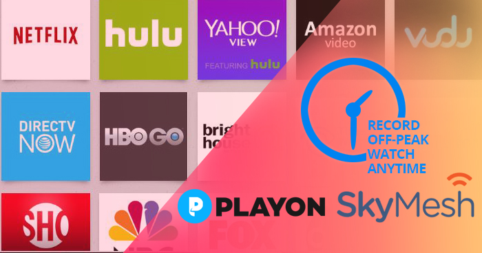 SkyMesh #1 Life Hack = PlayOn | www playon tv