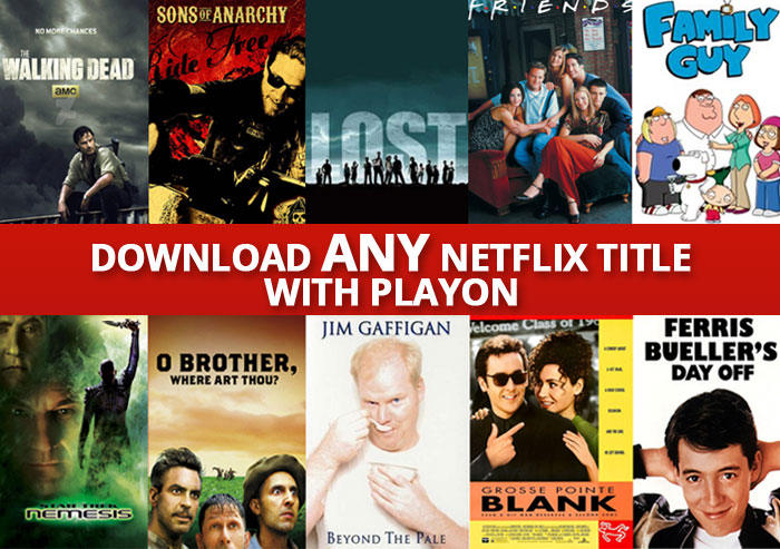 Download any Netflix title to any PC or Mac with PlayOn Cloud - all titles