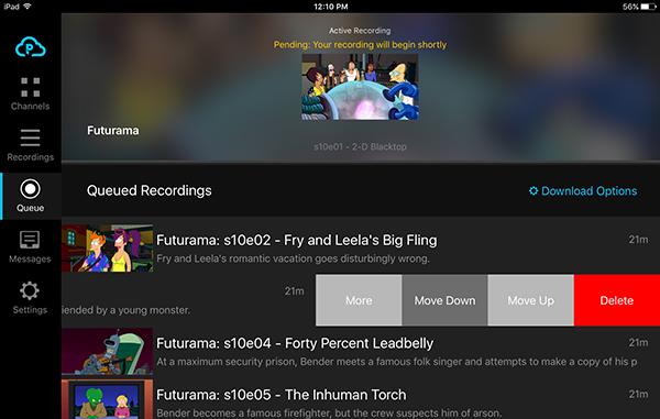 Managing Your PlayOn Cloud Queue | www playon tv
